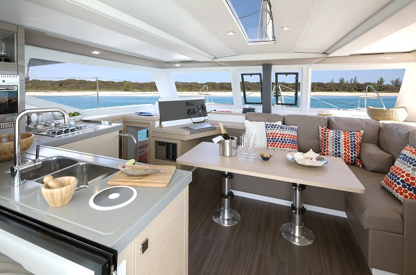 Fountaine Pajot LUCIA 40 for sale at Miami Boat Show