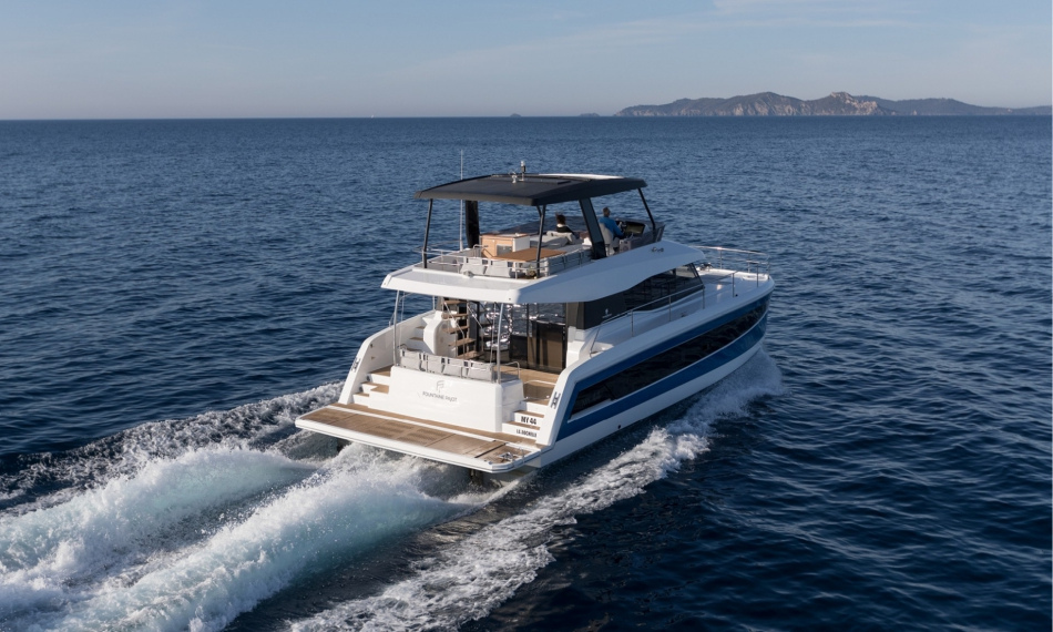 Fountaine Pajot MY 44 awarded MOTOR BOAT 2018 in Passagemakers category