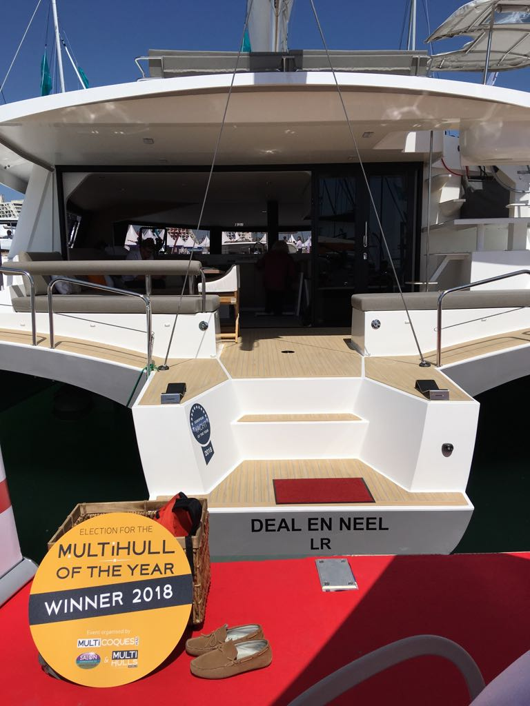 NEEL 51 wins MULTIHULL OF THE YEAR award in 50'+ category