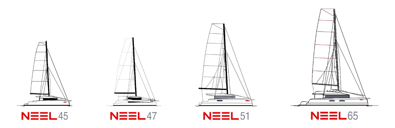 NEEL Trimarans - Specs & price list trimaran Neel 45 47 51 65