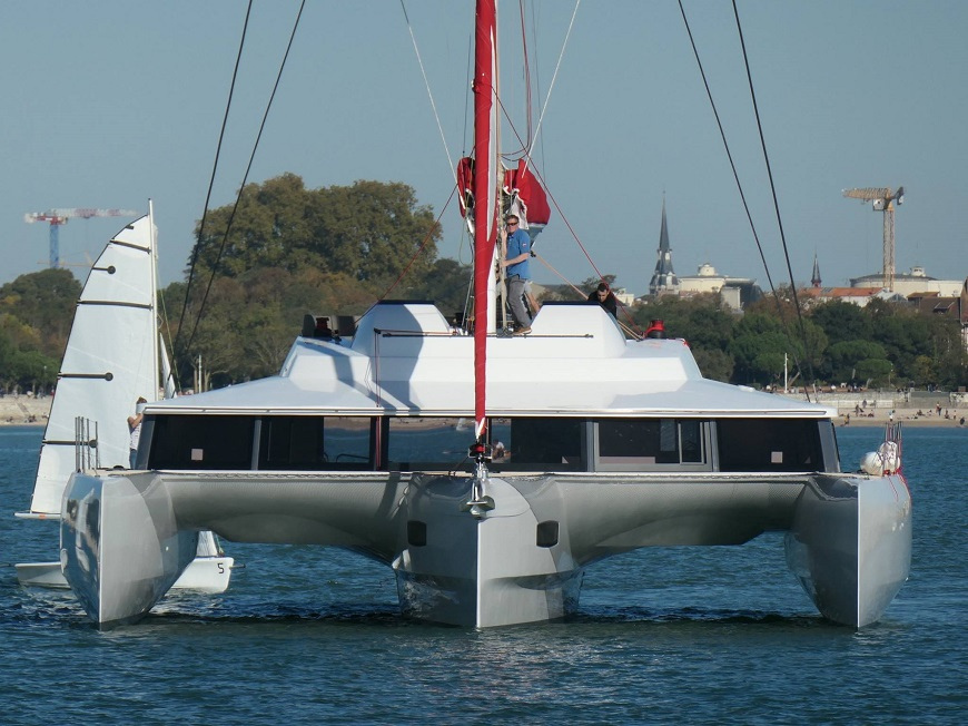 NEEL 65 Evolution trimaran in La Rochelle - For sale by Caribbean Multihulls
