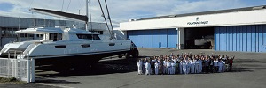 Fountaine Pajot workers in Aigrefeuille