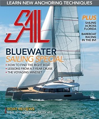 Neel 51 trimaran review - SAIL January 2018