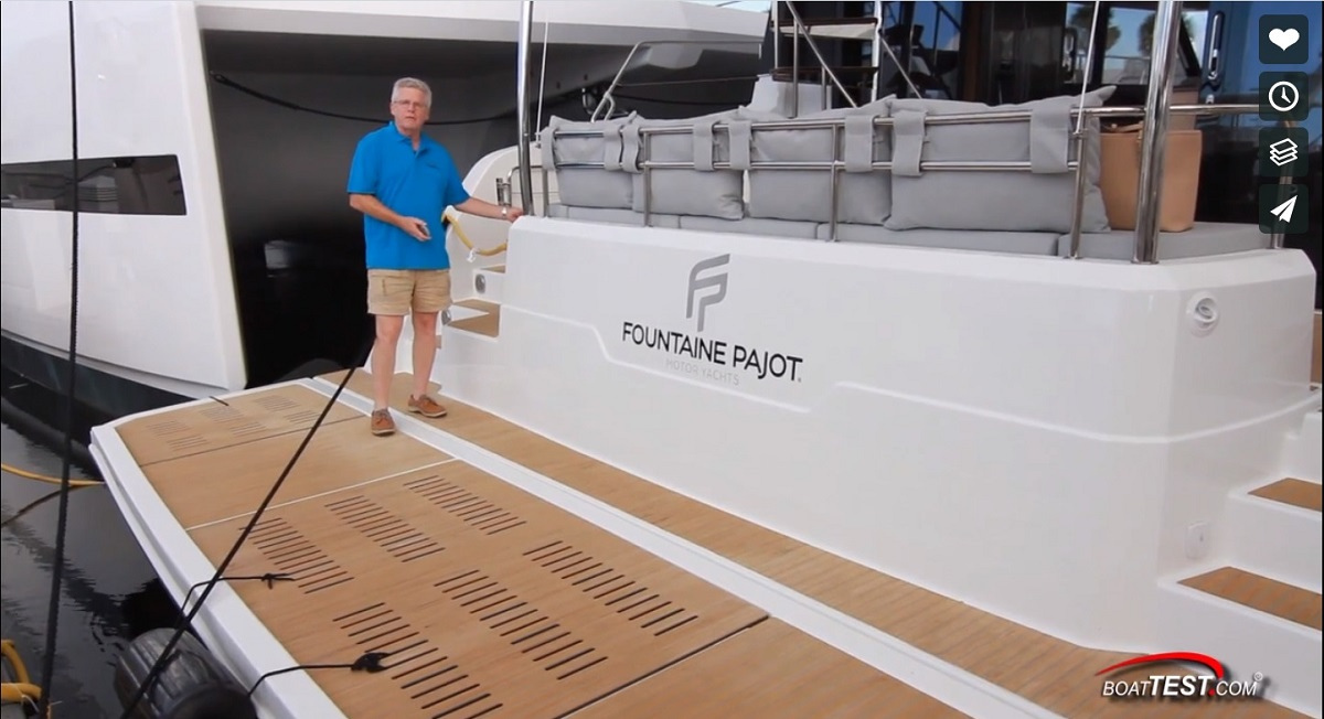 Test review Fountaine Pajot MY 44 power catamaran