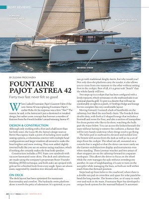 Astrea 42 review by Multihull Sailor (2018)