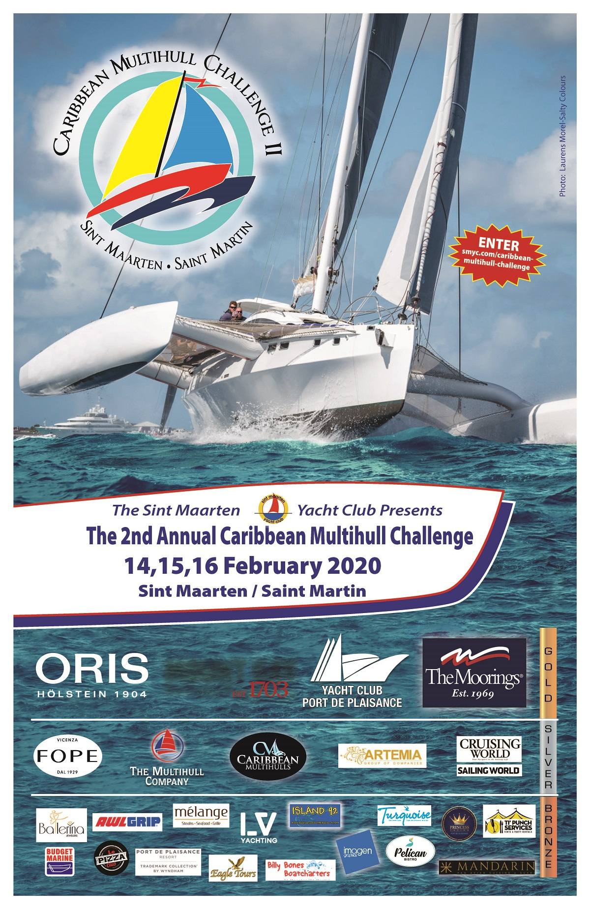 Poster of the 2020 Caribbean Multihull Challenge - CMC II