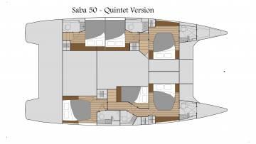 Fountaine Pajot Saba 50 catamaran - Specs, Review, Price list