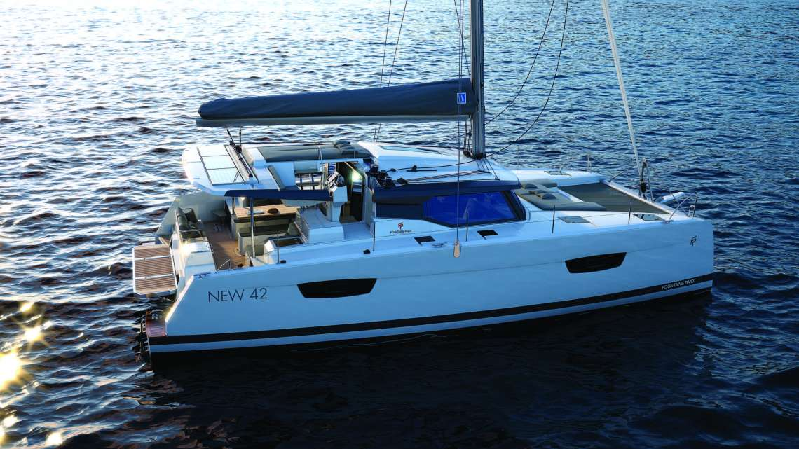 Astrea 42 FOUNTAINE PAJOT SAILING CATAMARAN