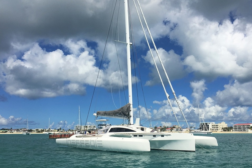 CMC 2 entry - Ineffable Trimaran Rapido 60