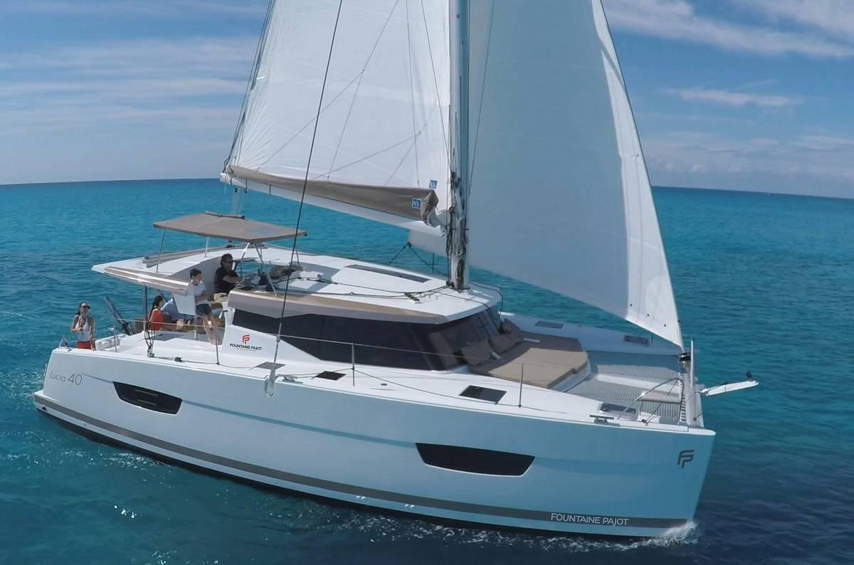 Fountaine Pajot Lucia 40 catamaran: specs, review & price list