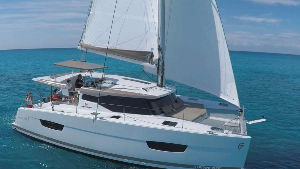 Fountaine Pajot Lucia 40 for sale in the Caribbean
