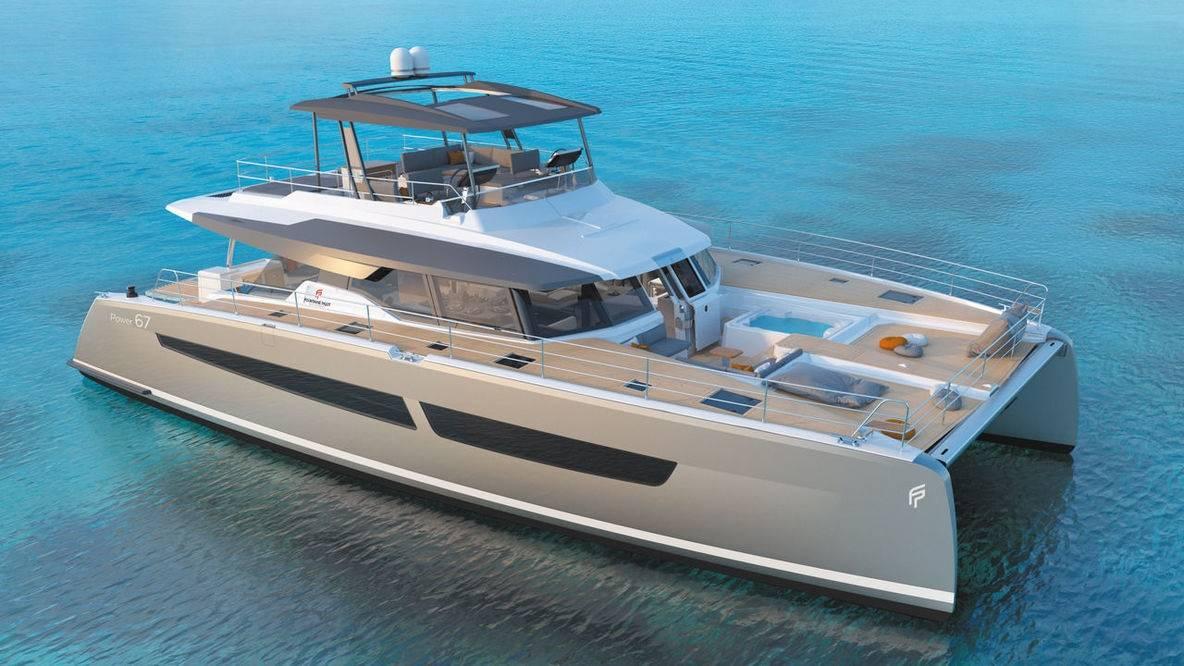 Fountaine Pajot 67 Power catamaran description, review, price