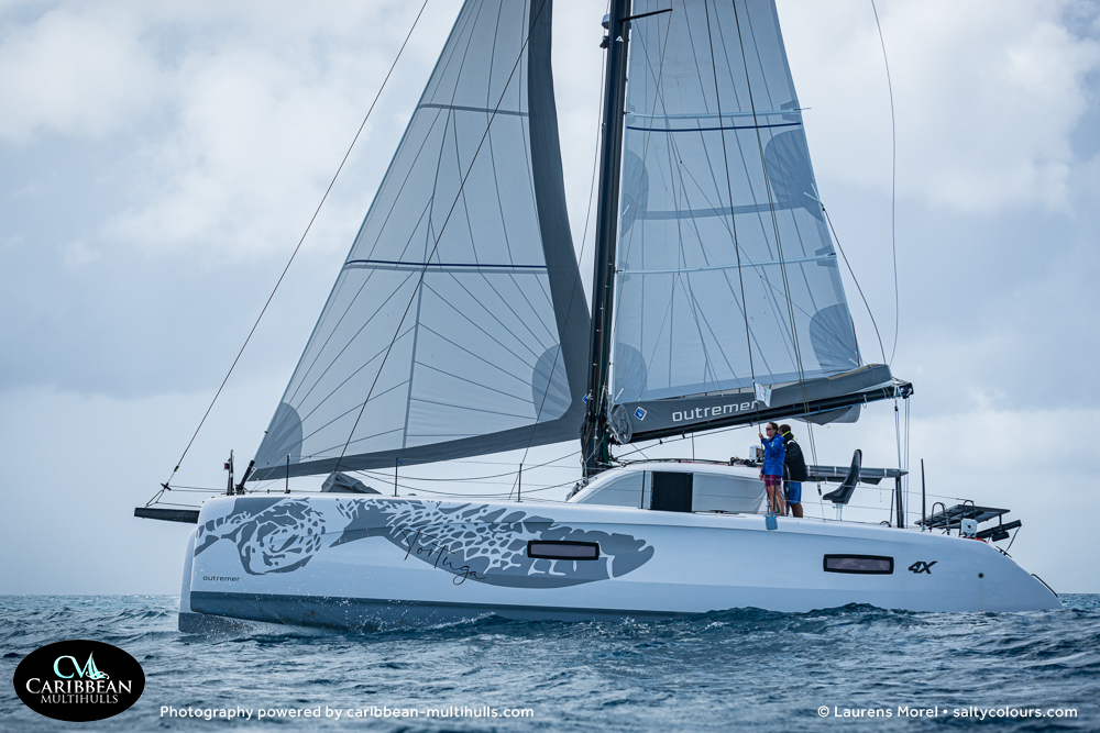 TORTUGA Outremer 4X Catamaran - Entry to CMC 2