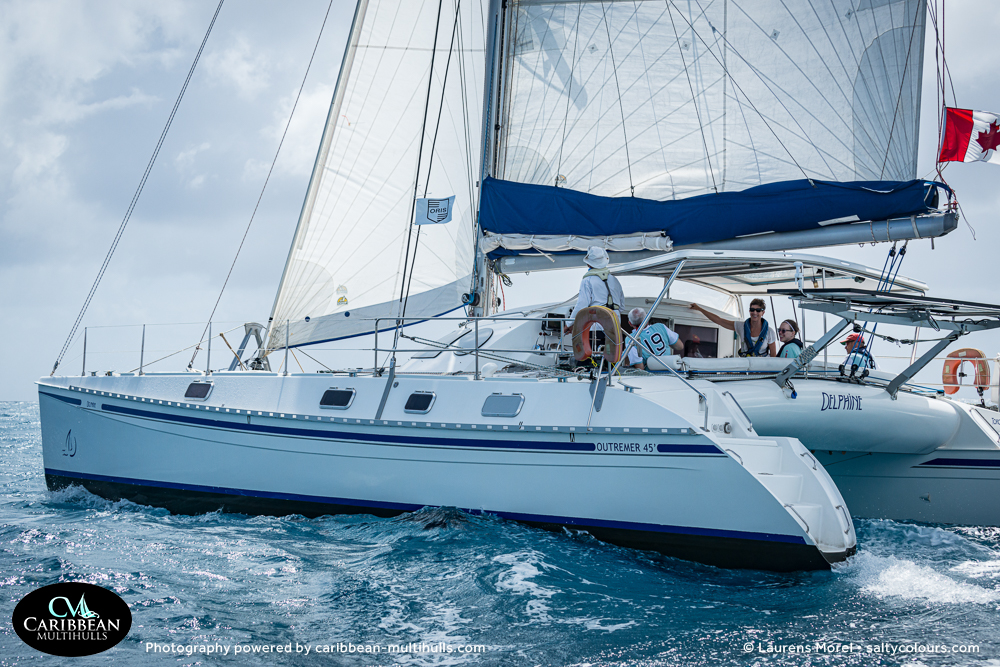 DELPHINE Outremer 45 - CMC 2 Entry