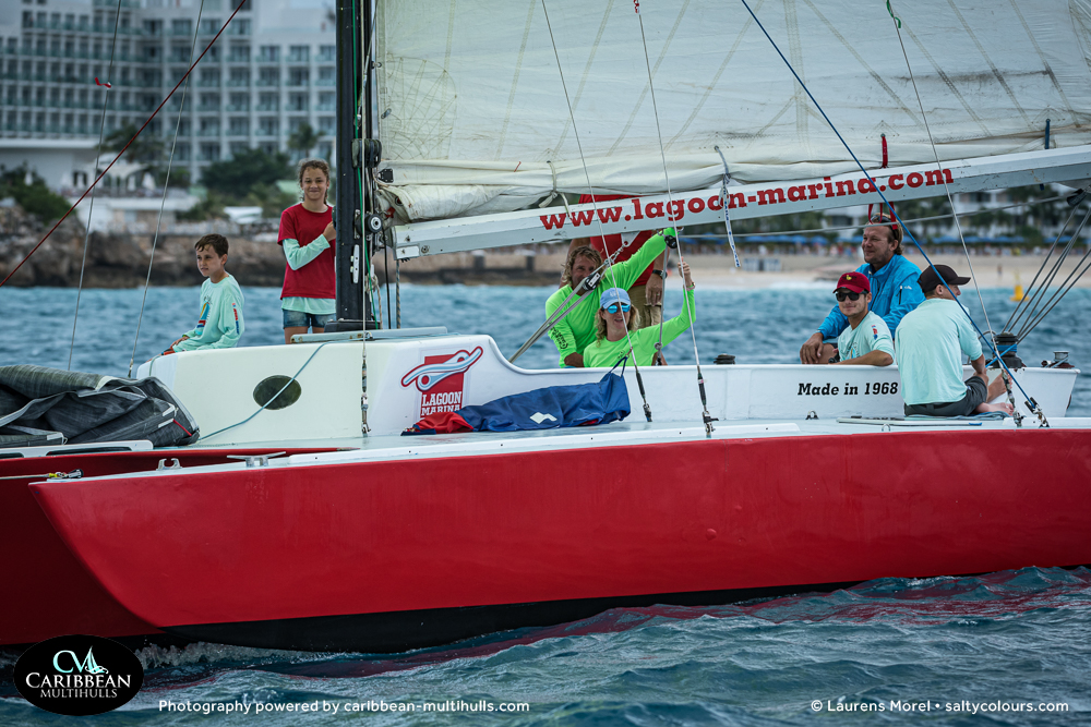 TRYST Trimaran SXM - Entry to CMC 2