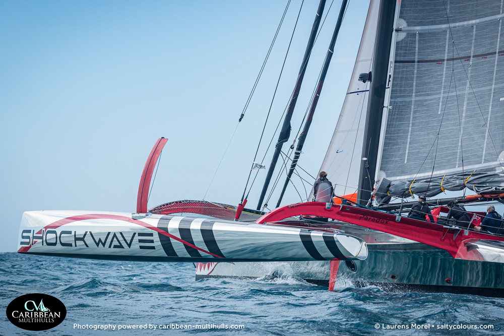 SHOCKWAVE Trimaran - Entry to CMC 2