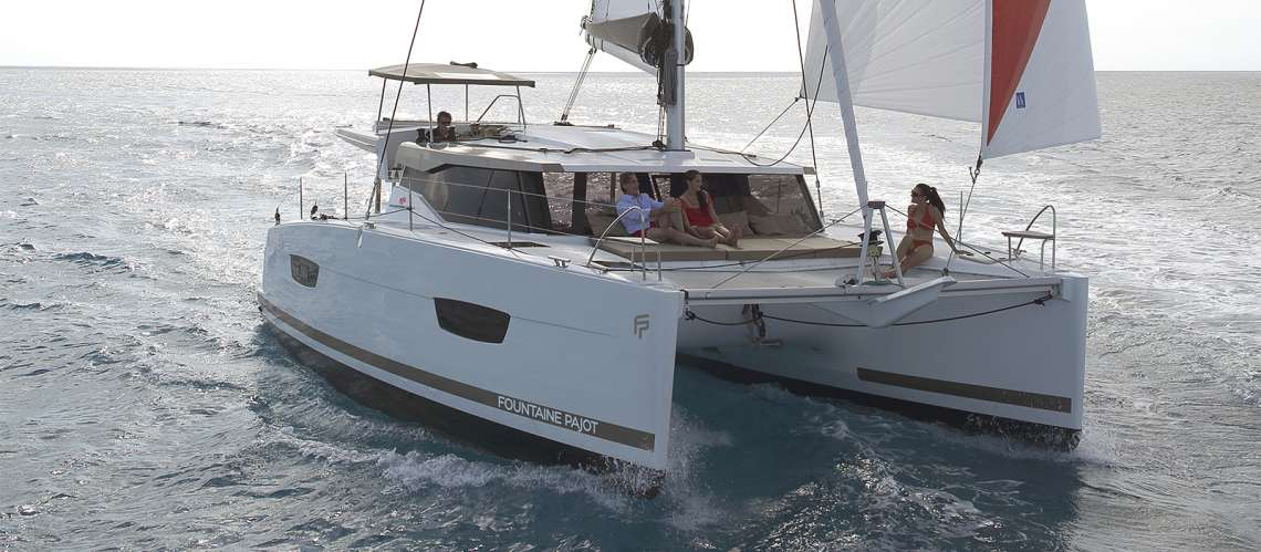 Fountaine Pajot Lucia 40 review and price