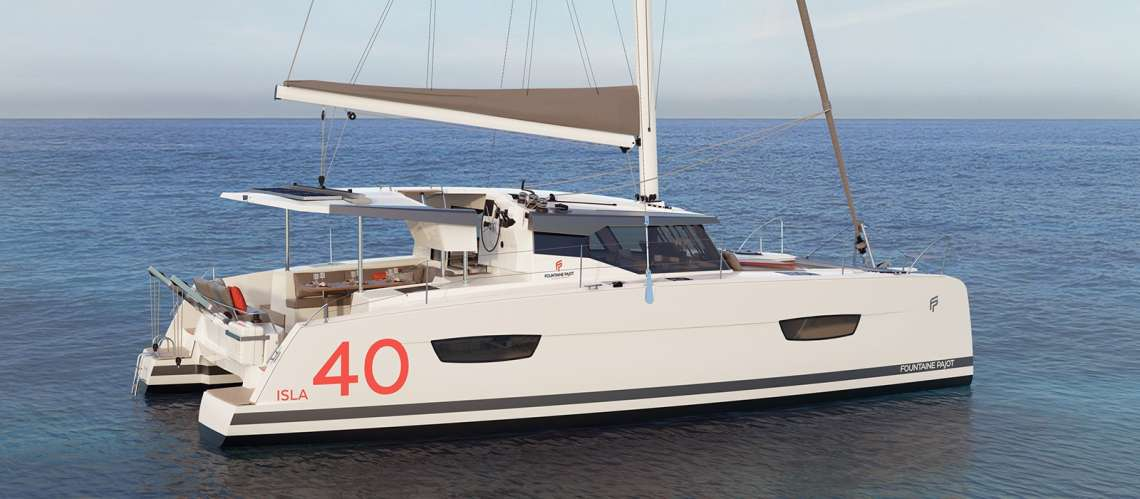 ISLA 40 Fountaine Pajot catamaran